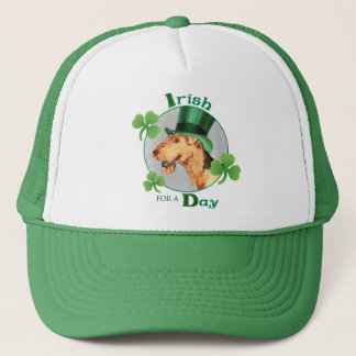 St Patrick Tag Airedale Truckerkappe