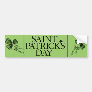 St Patrick Tag Autoaufkleber