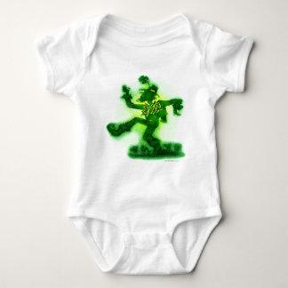 St Patrick Tag Baby Strampler