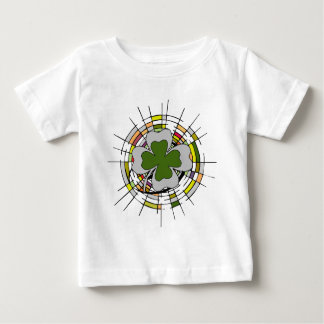 St Patrick Tag, Buntglas Baby T-shirt