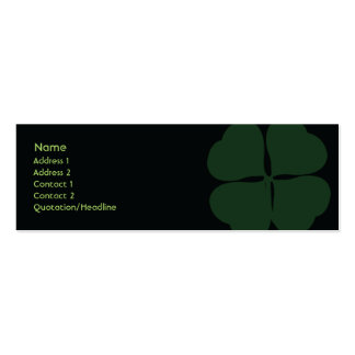 St Patrick Tag - dünn Jumbo-Visitenkarten