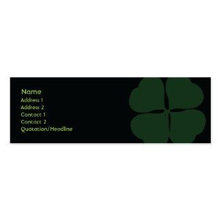 St Patrick Tag - dünn Mini-Visitenkarten