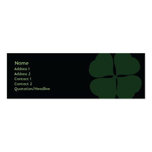St Patrick Tag - dünn Visitenkarten