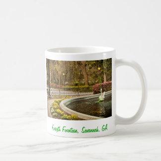 St Patrick Tag - Forsyth Brunnen, Savanne, GA Kaffeetasse