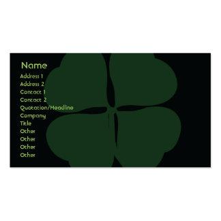 St Patrick Tag - Geschäft Visitenkarten