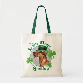 St Patrick Tag irisches Terrier Tragetasche