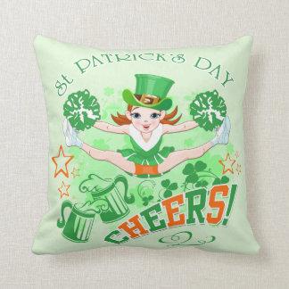 St Patrick Tag Kissen
