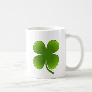 St Patrick Tag - Kleeblatt Kaffeetasse