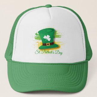 St Patrick Tag. Kobold-Hut. Irland-Flagge Truckerkappe