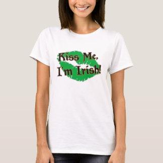 St Patrick Tag küssen mich T-Shirt