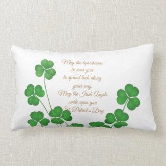 St Patrick Tag lumbaler Kissen-Mai der Kobold Lendenkissen