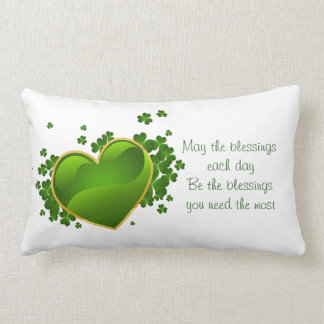 St Patrick Tag lumbaler Kissen-Mai der Segen Lendenkissen
