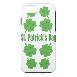 St Patrick Tag mit Klee iPhone 8/7 Hülle
