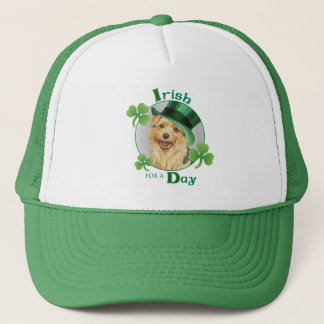 St Patrick Tag Norfolk Terrier Truckerkappe
