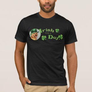 St Patrick Tag Norwich Terrier T-Shirt