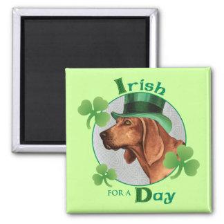 St Patrick Tag Redbone Quadratischer Magnet