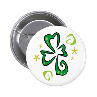 St Patrick Tag Runder Button 5,1 Cm