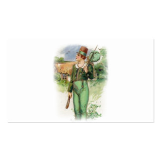 St Patrick Tag - Vintag Visitenkarte