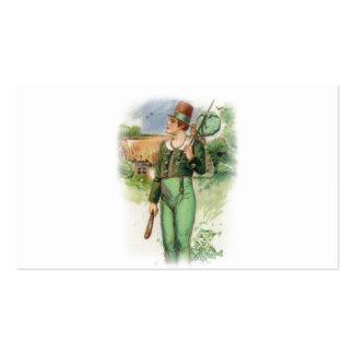 St Patrick Tag - Vintag Visitenkarten