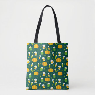 St Patrick Tagesbier-Druck-Taschen-Tasche Tasche
