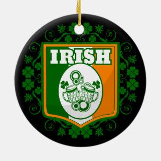 St Patrick Tagesbier Keramik Ornament