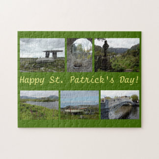 St Patrick Tagescollage Puzzle