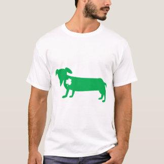 St Patrick TagesDackel T-Shirt