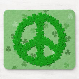 St Patrick Tagesfriedenszeichen Mousepad