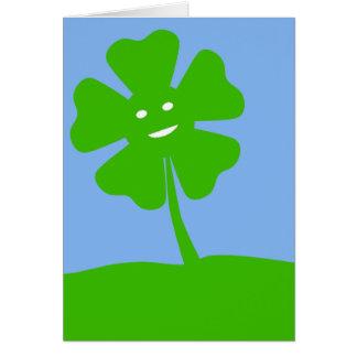 St Patrick Tagesgeburtstags-Karte Karte