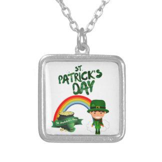 St Patrick Tagesgeschenke Versilberte Kette