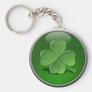 St Patrick Tagesglückliches Kleeblatt Schlüsselanhänger