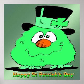 St Patrick Tagesgnome-Plakat Poster