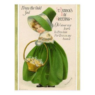 St Patrick Tagesgruß-Postkarte Postkarte