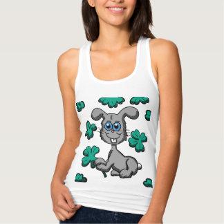 St Patrick Tageshäschen-Shirt Tank Top