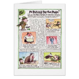 St Patrick Tageskarte Grußkarte