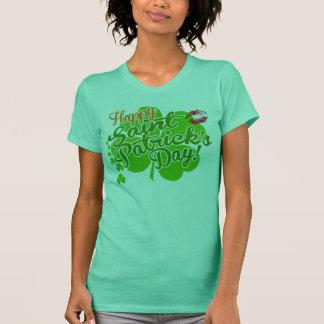 St Patrick Tagesklee und -küsse T-Shirt