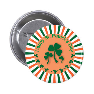 St Patrick Tagesknopf Runder Button 5,1 Cm