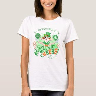 St Patrick Tageskobold-Cheerleader-T-Shirt T-Shirt