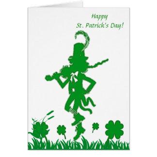 St Patrick Tageskobold-Karte Karte
