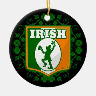 St Patrick Tageskobold Keramik Ornament
