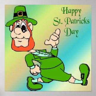St Patrick Tageskobold-Plakat Poster