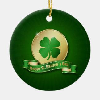 St Patrick Tagesmünze - Verzierung Keramik Ornament