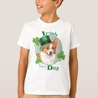 St Patrick Tagespembroke-WaliserCorgi T-Shirt