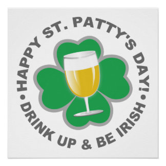 St Patrick Tagesplakat Poster