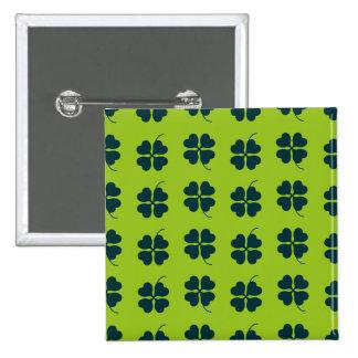 St Patrick Tagesquadrat-Knopf Quadratischer Button 5,1 Cm