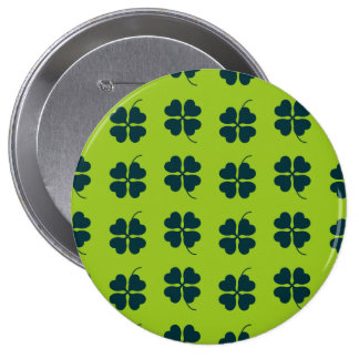 St Patrick Tagesrunder Knopf Runder Button 10,2 Cm