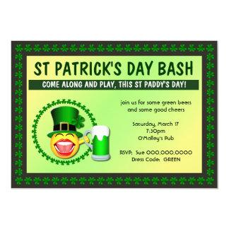 St Patrick Tagesschlag-Einladung 12,7 X 17,8 Cm Einladungskarte