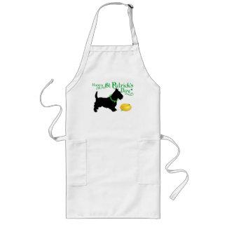 St Patrick TagesScottish Terrier Lange Schürze