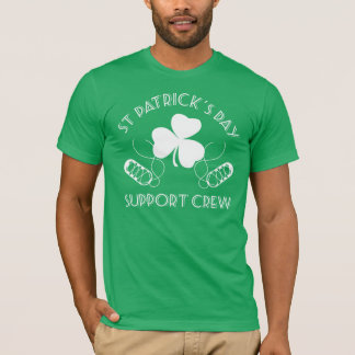 St Patrick TagesstützCrew-Iren-Tanz-T-Stück T-Shirt