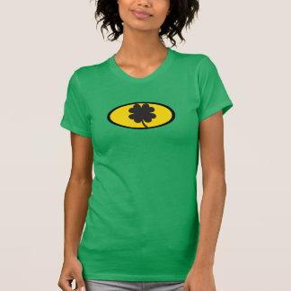 St Patrick Tagest-shirt für Frauen-Schläger-Thema T-Shirt